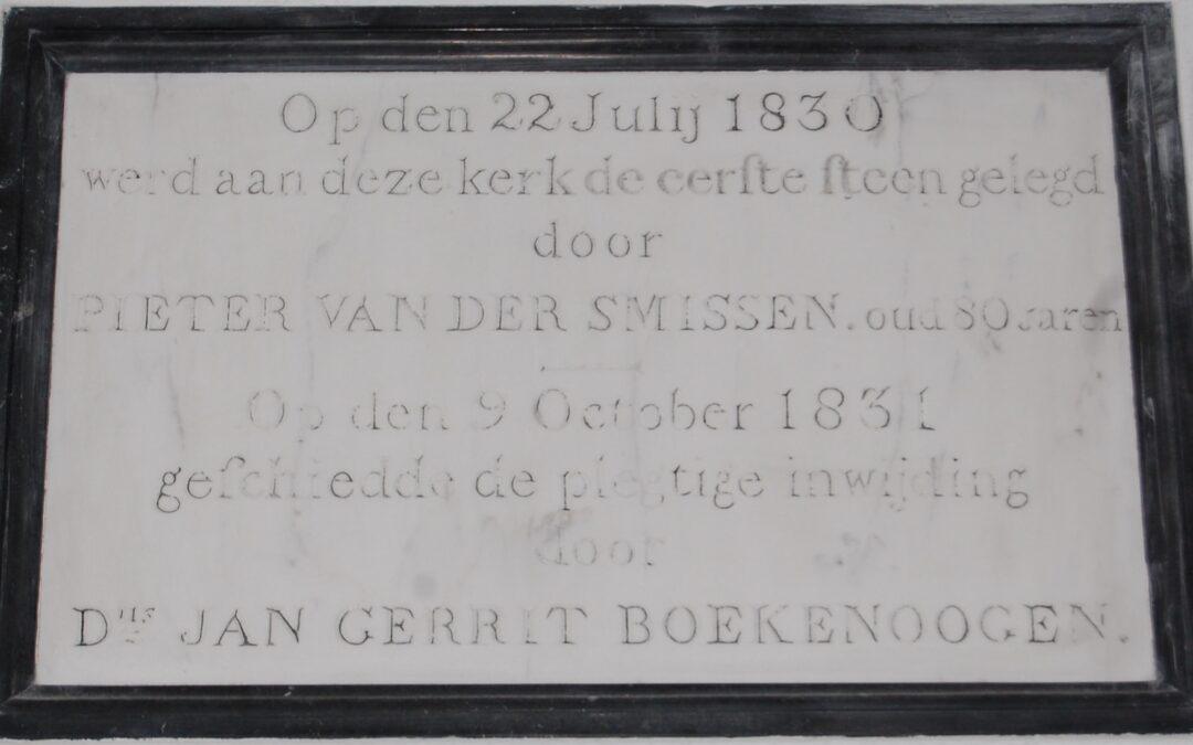 1830Bouw Wormerveerse Vermaning